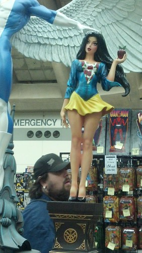 A Cross Between Snow White and a Super Hero at Baltimore Comic-Con 2012