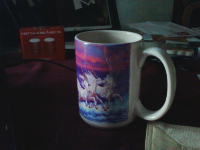 My favorite tea in my favorite mug.