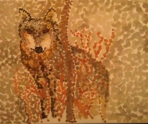 Arts Award - Pointillism