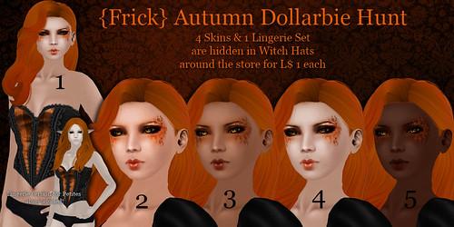 {Frick} Autumn Dollarbie Hunt