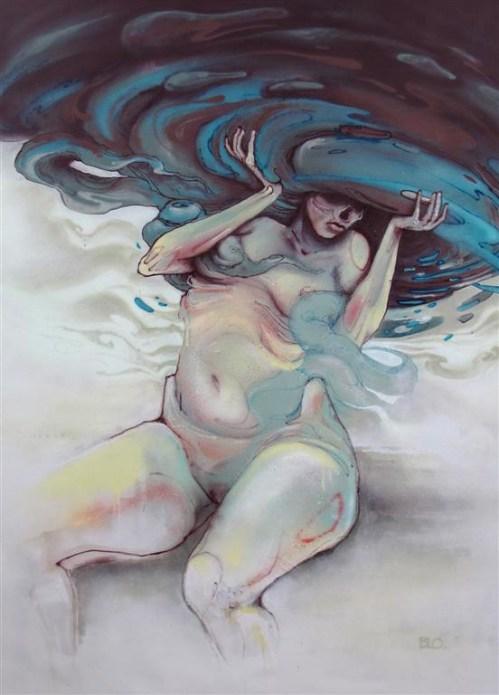 Spraypaint on Canvas, 120x150cm