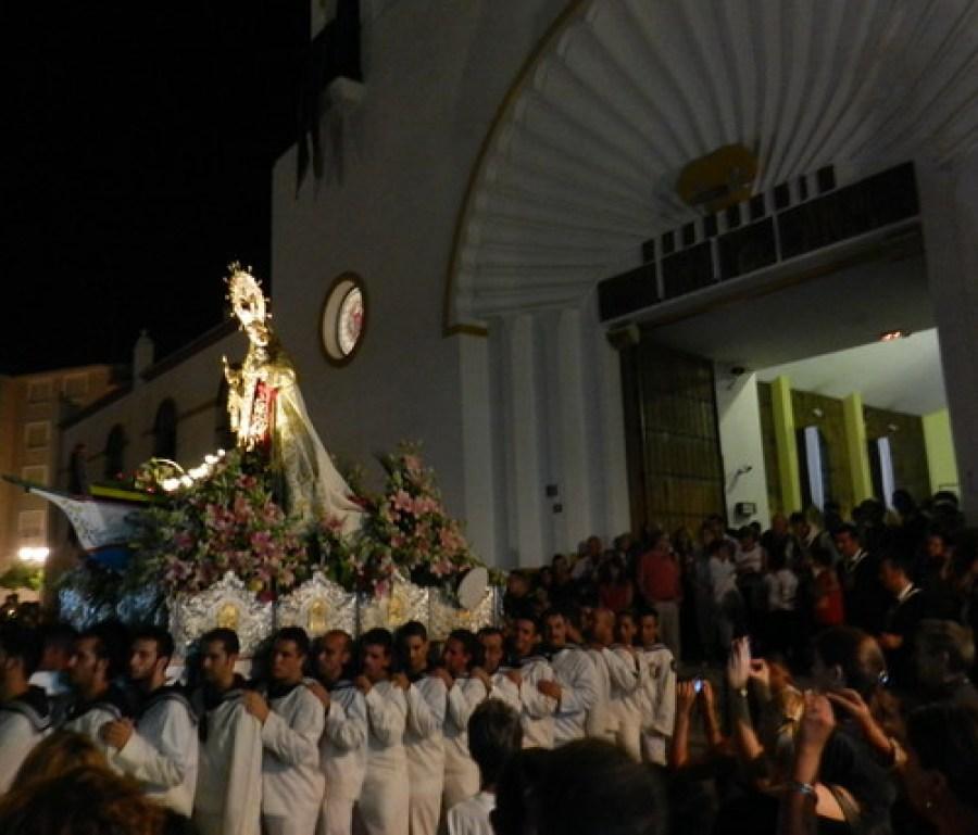 Procesión de la Virgen del Carmen 2012 Fuengirola Málaga  26