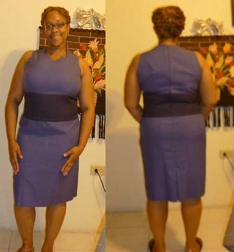 Abbey Dabbles: Sleeveless Panel Dress