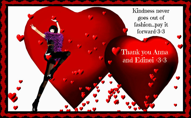 ~Thank you Anna and Edinei<3<3~