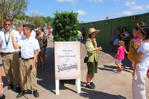 New Fantasyland soft opening
