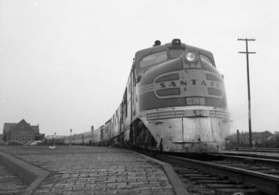 ATSF Kansas Cityan Streator IL 5-21-1950