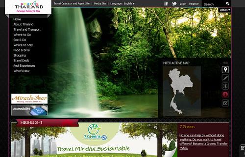 การท่องเที่ยวแห่งประเทศไทย (ททท.) 2012