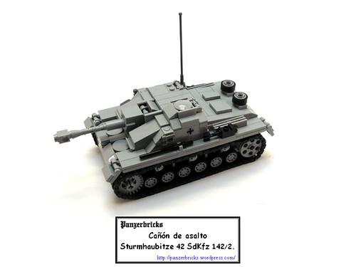 Sturmhaubitze 42 SdKfz 142/2 de Panzerbricks