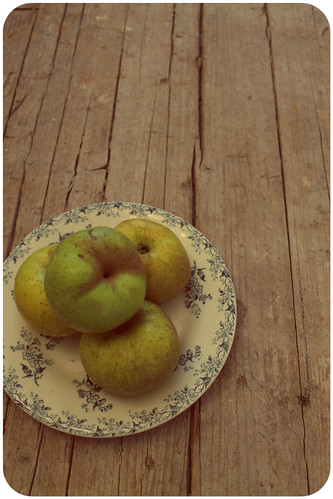 manzanas crudas
