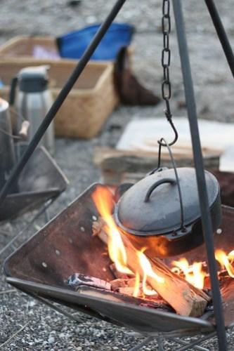 焚火カフェ