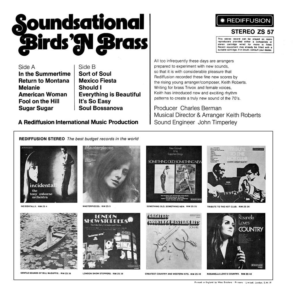 Birds 'N Brass - Soundsational