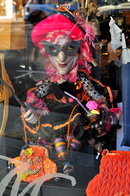 Halloween window