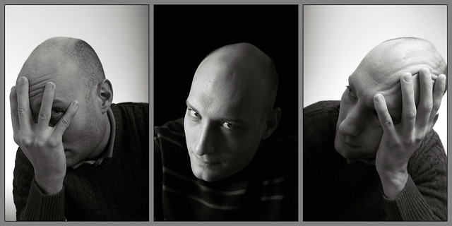 Portraiture assignment. Final prints, arranged as intended to be displayed!