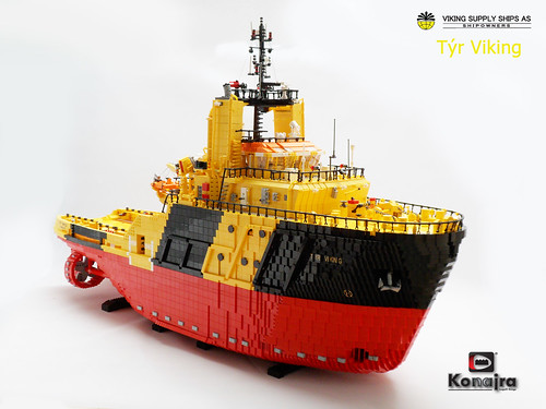 Tyr Viking (LEGO sistervessel of the FAIRPLAY-33)