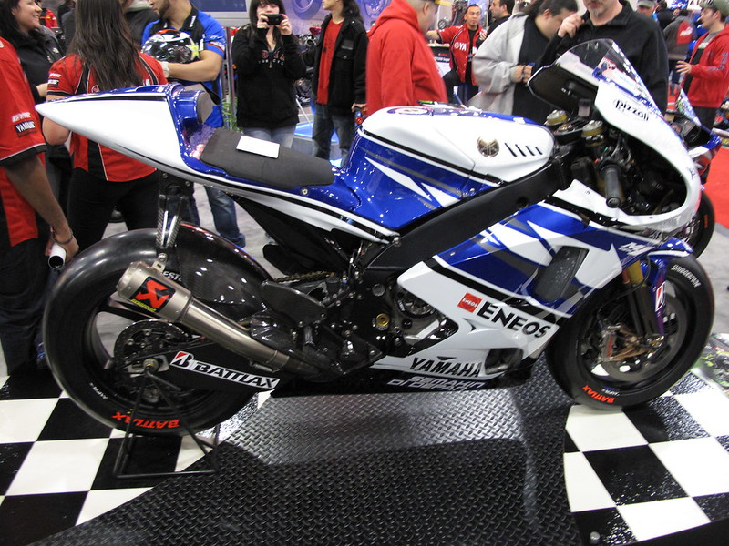 Lorenzo's winning rocket in the flesh!