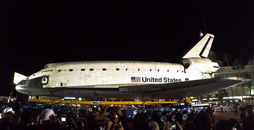 iPhone Pano - Shuttle Endeavour - Los Angeles, CA by NatashaBishop