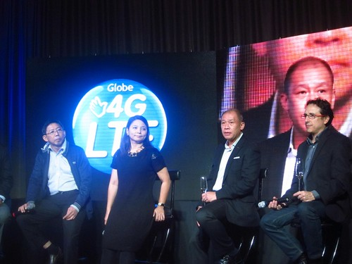 Launch of Globe 4G LTE