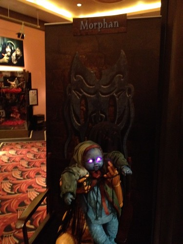 Horror Unearthed game at Halloween Horror Nights 2012