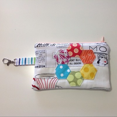 Scrappy swap pouch finished
