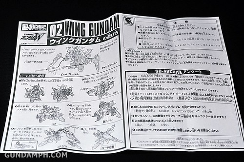 SD Archive Wing Gundam Unboxing Review (11)
