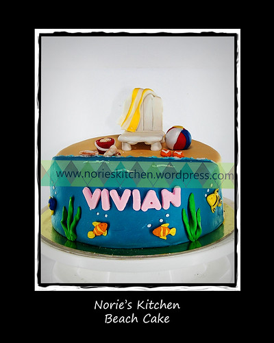 Norie's Kitchen - Beach Cake by Norie's Kitchen