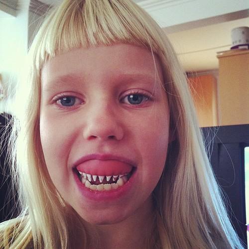 Creepy teeth!
