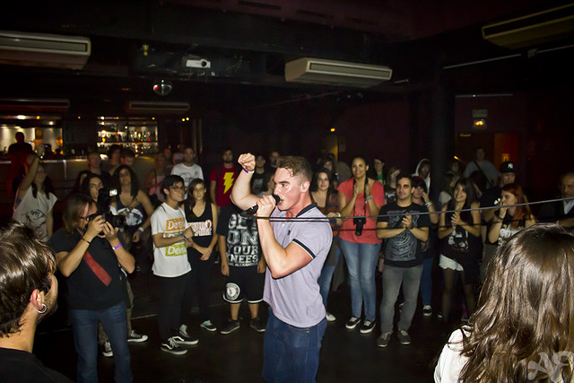Don Broco @ Music Hall, Barcelona 24/10/2012