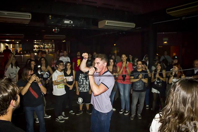 Don Broco @ Music Hall, Barcelona 24/10/2012