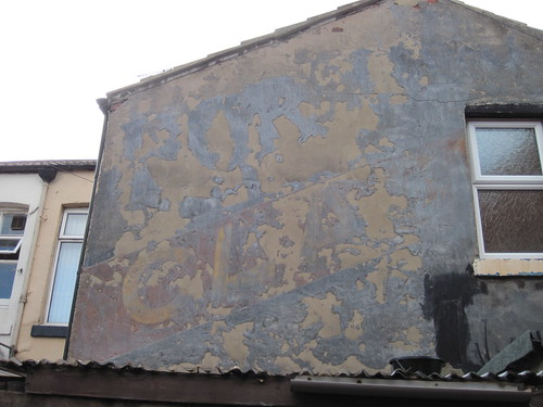 Ghostsigns behind West Dyke Road, Redcar