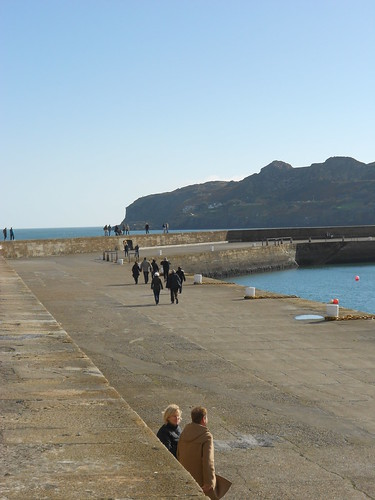 Howth Harbour Wall