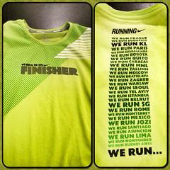 Nike We Run KL 2012 Finisher's Tee