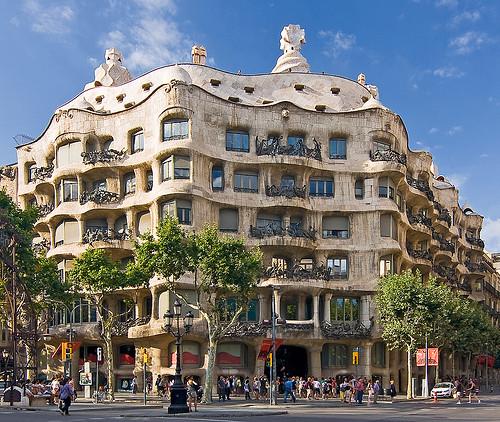 Casa Mil La Pedrera LEixample Paseo de Gracia Barcelona Spain 1906  1910  Jos Miguel