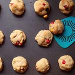 Double Peanut Butter M&M Cookies