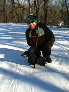 Snow hike!