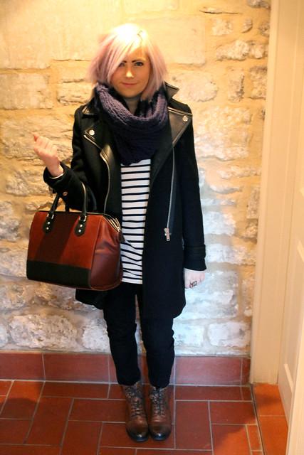 Outfit post Zara coat