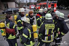Feuer R+V-Hochhaus Kureck 03.02.13