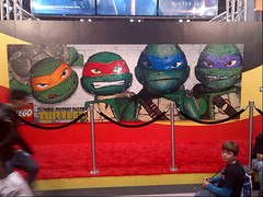 LEGO Booth TMNT mural finished BM