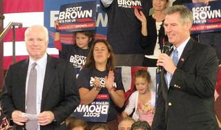 Senators John McCain & Scott Brown