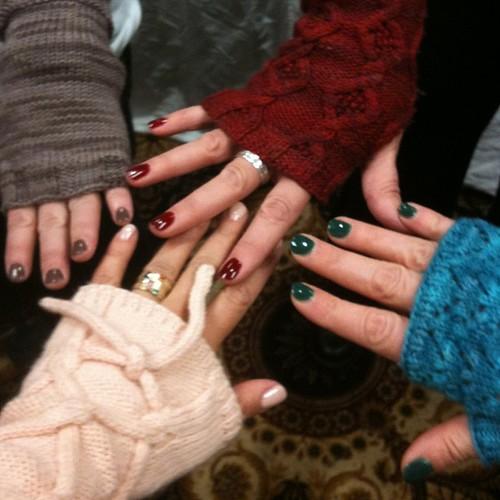 Guess which soakbox sleeves we are wearing? @lornaslaces @chris_soak @fionaellis @Jacqueline_soak