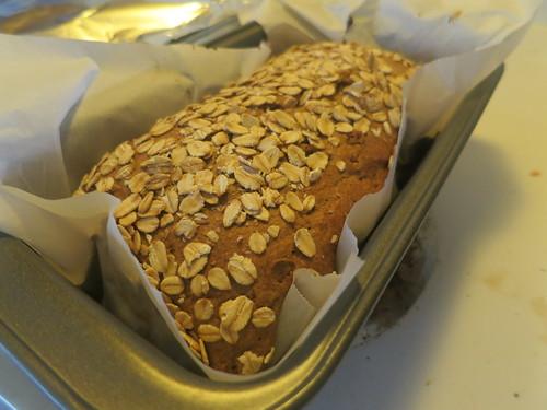 Almond butter banana bread