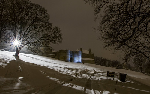 A winter evening at The Castle