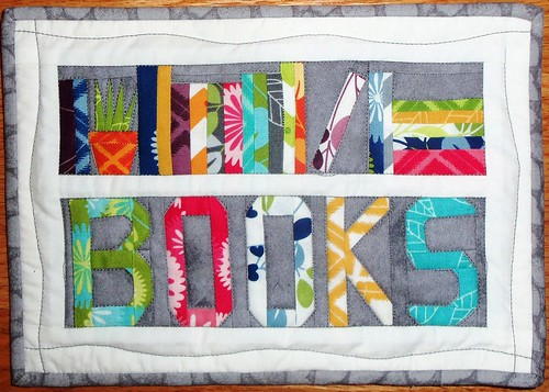 Bookshelf MQTS quilt... by ruthiequilts
