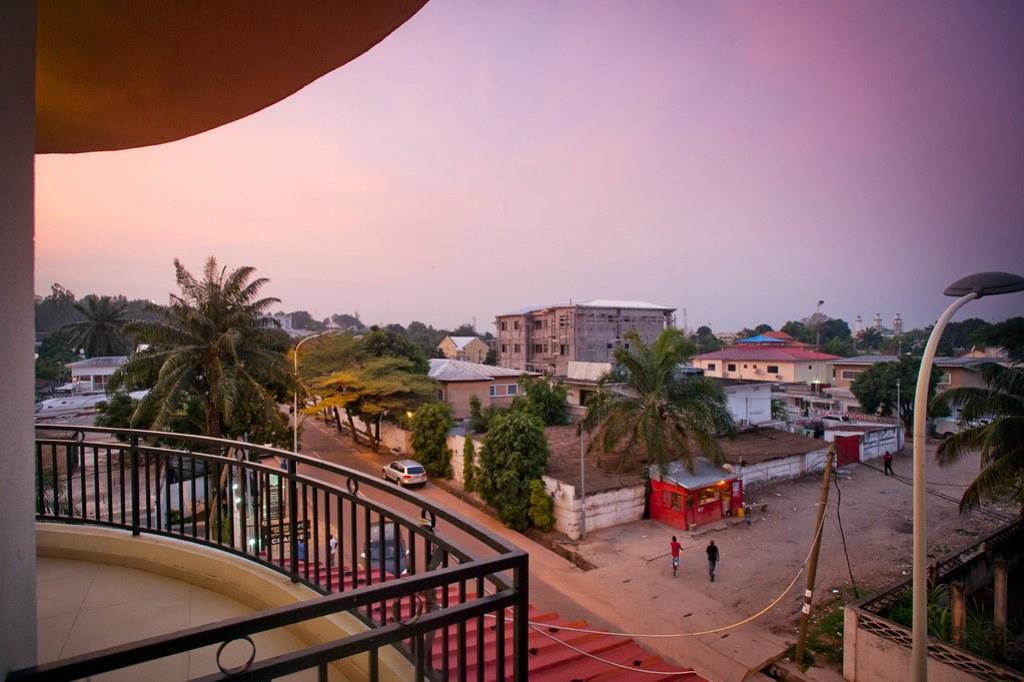 Brazzaville at dusk