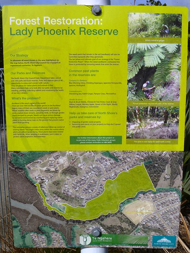 Lady Phoenix Reserve Sign