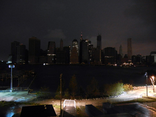 Lower Manhattan Plunged into Darkness