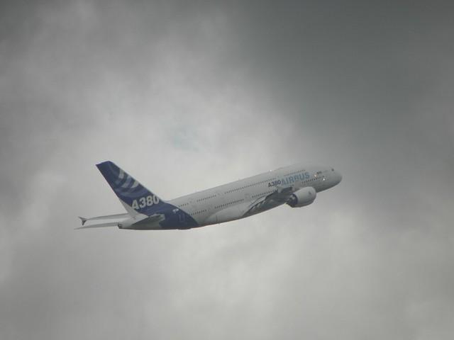 An Airbus A380 Superjumbo