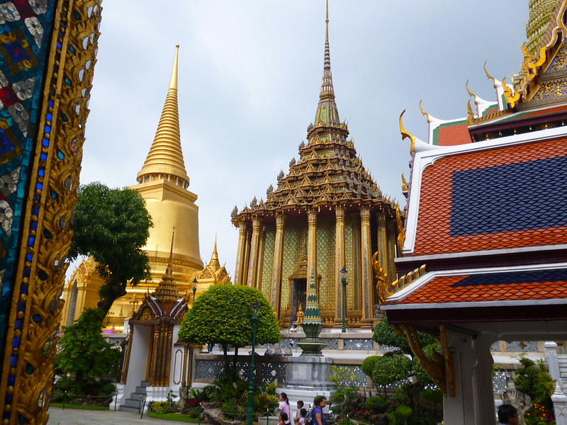 Emerald Buddha shrine (?)