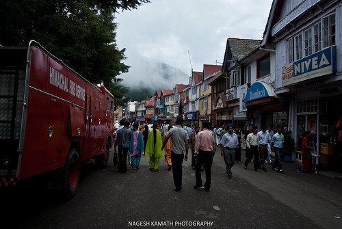 Fire Service on Mall Road