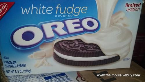 White Fudge Oreo