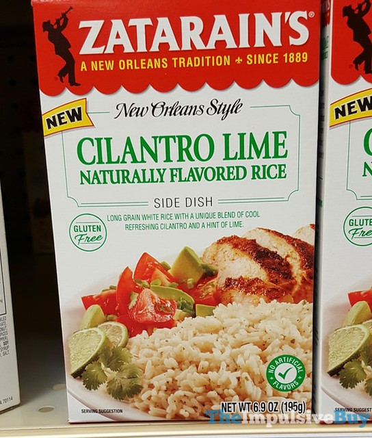 Zatarain's Cilantro Lime Rice